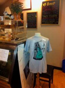"""Dalek """"caffeinate"""" t-shirt"""