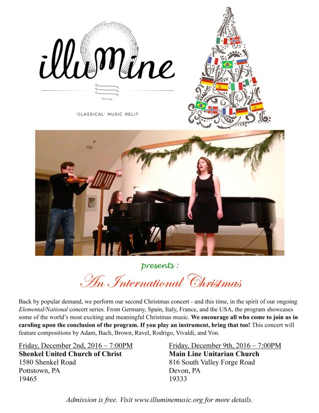 Flyer - An International Christmas